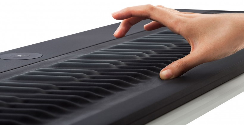 play keyboard in a different way with roli seaboard rise. Black Bedroom Furniture Sets. Home Design Ideas