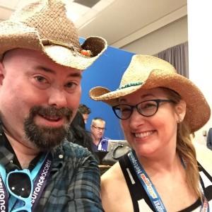 Matching Cowboy Hats