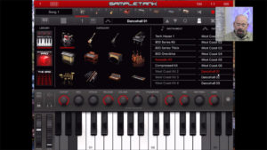 Sampletank 2 in Song Mode