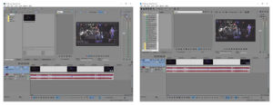 Vegas Pro 13 and Pro 14 side-by-side