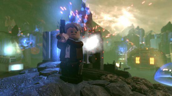 Un niveau se déroulant avant le film où l'on découvre comment Han Solo a acquis les terrifiants Rathtars