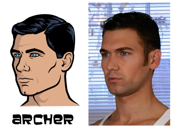 These Are the Real Life Inspirations For The Main Characters of Archer—See The Resemblances?