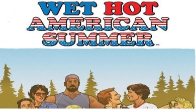 Photo of Your First Look at the WET HOT AMERICAN SUMMER  Original Graphic Novel