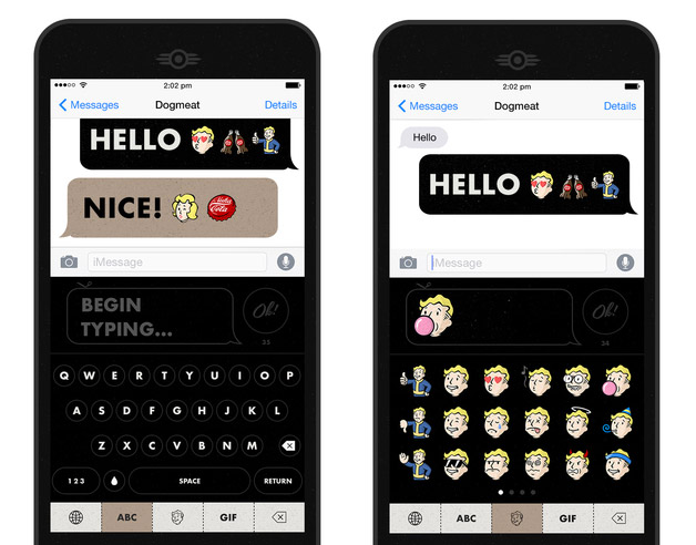 Download: Fallout CHAT Emoji Keyboard For Android & iOS
