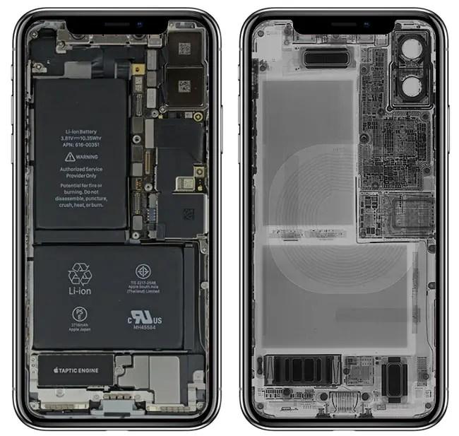 картинка внутри айфона с углублением