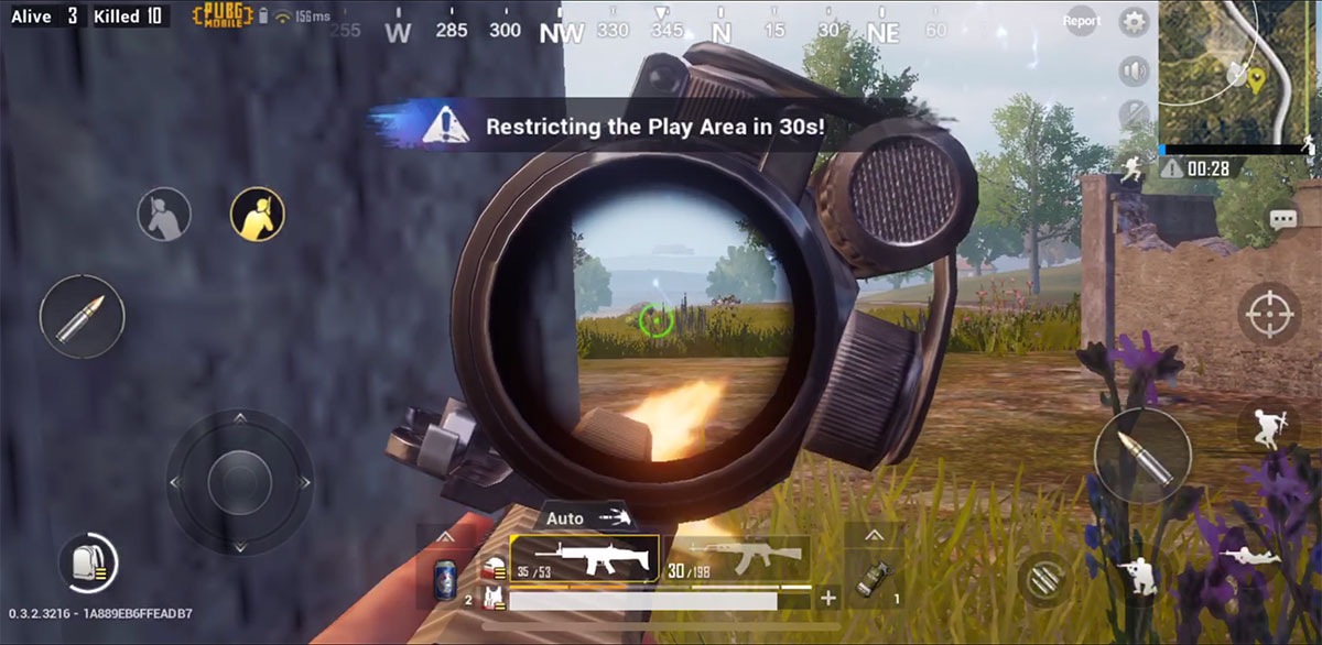 How To Lean Peek From Behind Cover In PUBG Mobile
