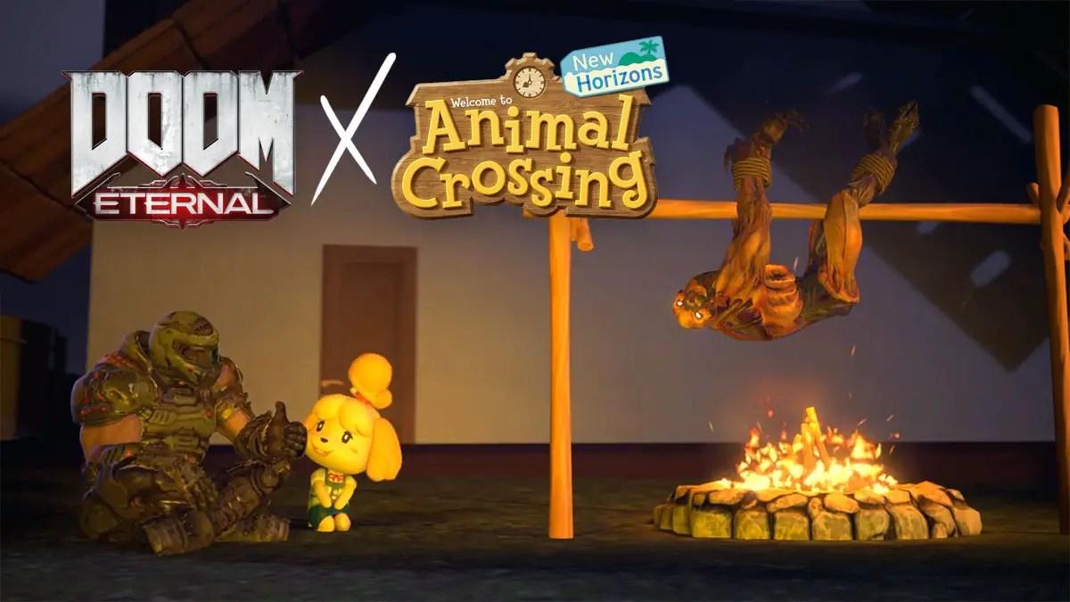 The Best Doom Eternal X Animal Crossing Memes
