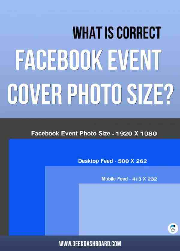 Facebook Event Photo Size 2017 - What is the correct size ...