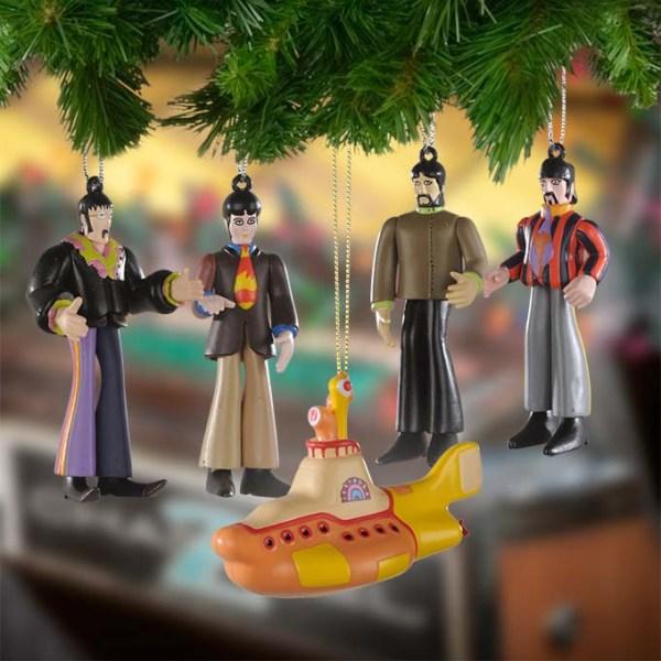 The Beatles Yellow Submarine Christmas Ornaments Geek Decor