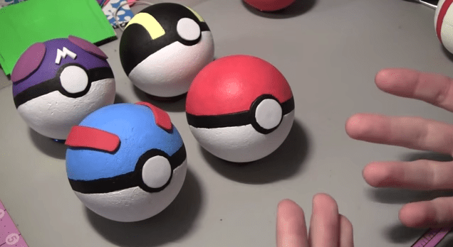 GIY Do It Yourself Pokeballs From PopCultureCrafts