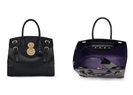 La borsa bella e intelligente con caricatore e luci incorporate per trovare sempre quello che cerchi (Ralph Lauren)