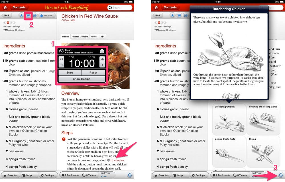 How to Cook Everything per iPad