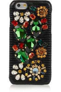 Di lusso: in pelle, camoscio e cristalli Swarovski (Dolce e Gabbana, 435 euro)