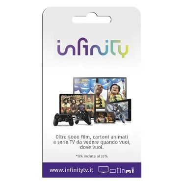 Regali last minute: compra online un Infinity Pass