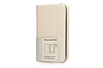 Non solo il classico blocco note nero, la cover per iPhone 5 di Moleskine ora è disponibile anche in un elegante beige avorio (Amazon, 31 euro)