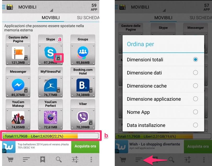 App Manager III: sposta le app su scheda SD e recupera spazio in memoria