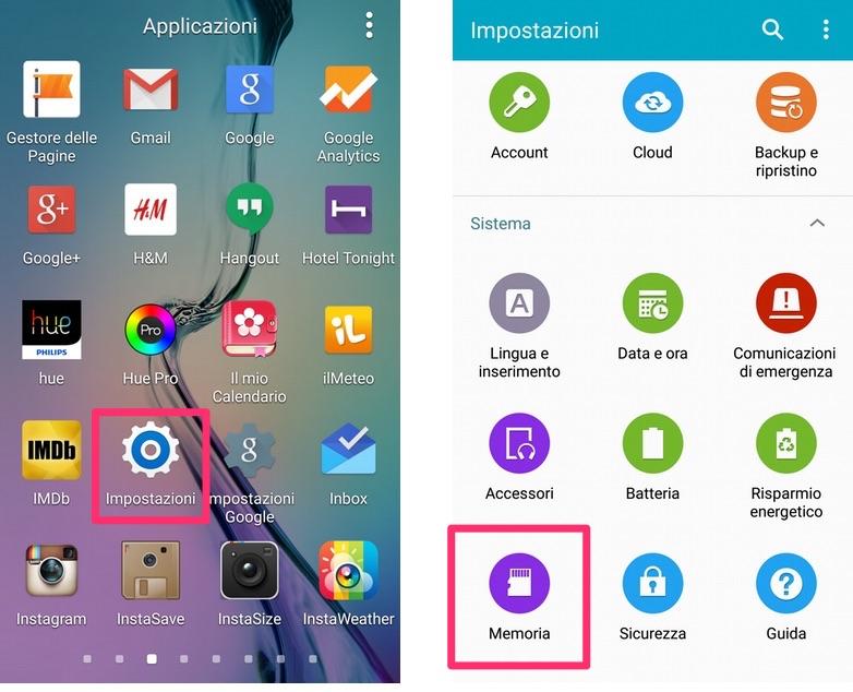 Come svuotare la cache dello smartphone Android
