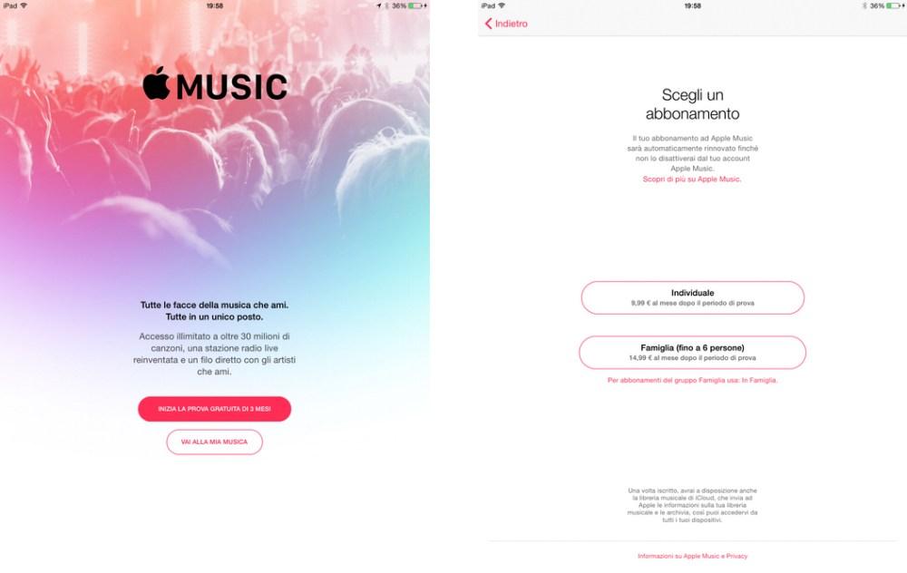 Come iscriversi ad Apple Music