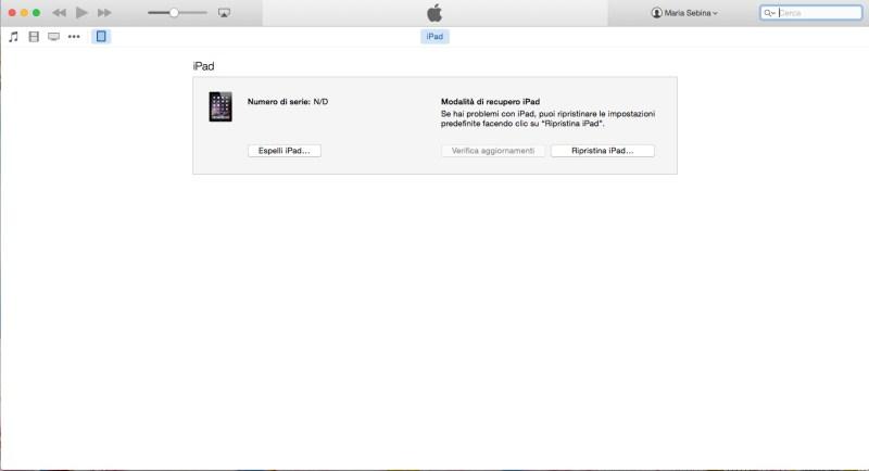 Come ripristinare un iPhone o un iPad - Secondo passo