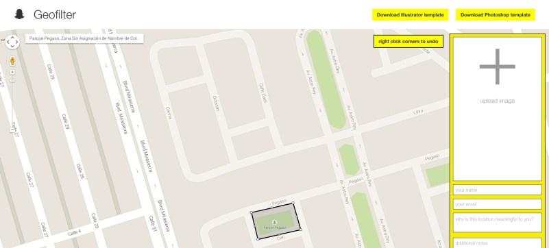 Come creare un filtro geolocalizzato su Snapchat