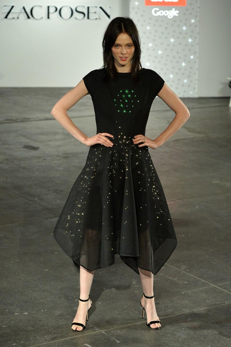 Il vestito di Zac Posen in collaborazione con Google