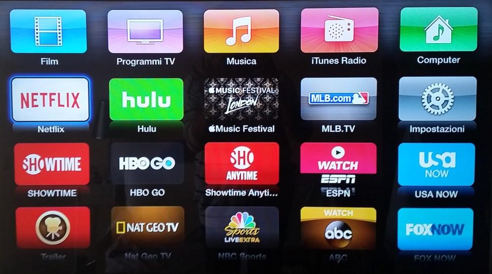 Vedere Netflix sull'Apple TV: giovedì dovrebbe apparire un nuovo canale come nella versione USA