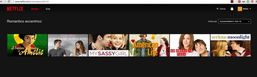 Netflix: come visualizzare tutti i film di una micro-categoria