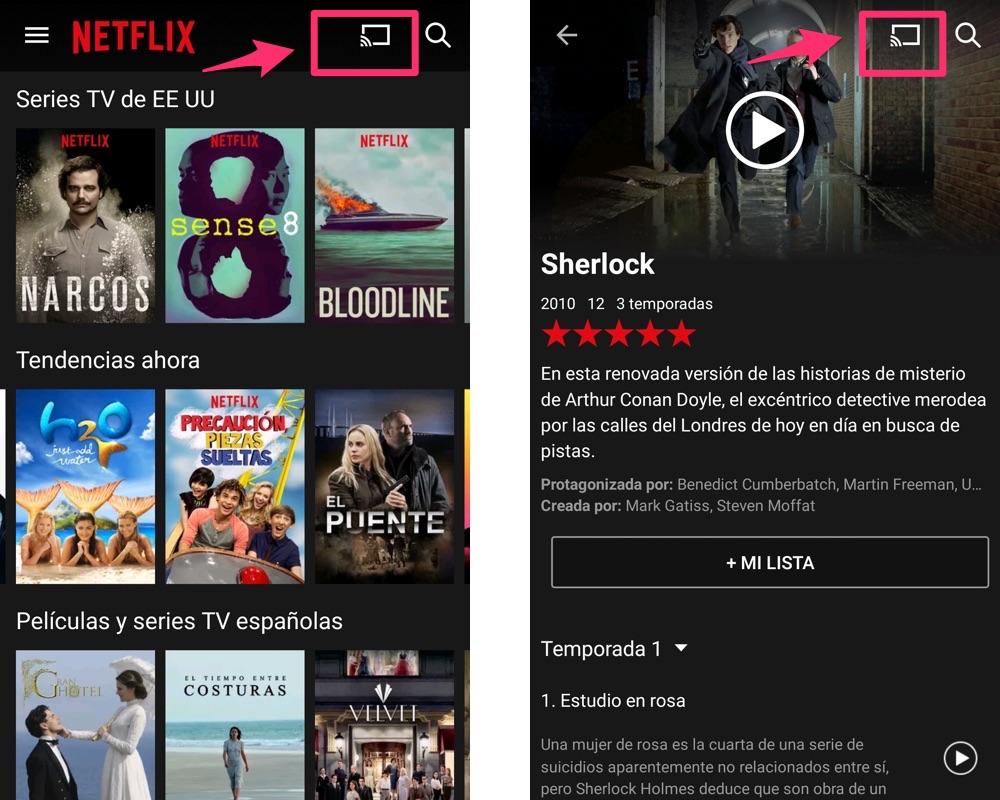 Come vedere Netflix sulla TV con Chromecast