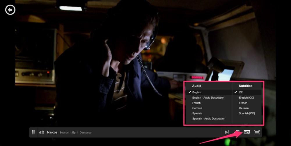 Netflix: come configurare lingua audio e sottotitoli