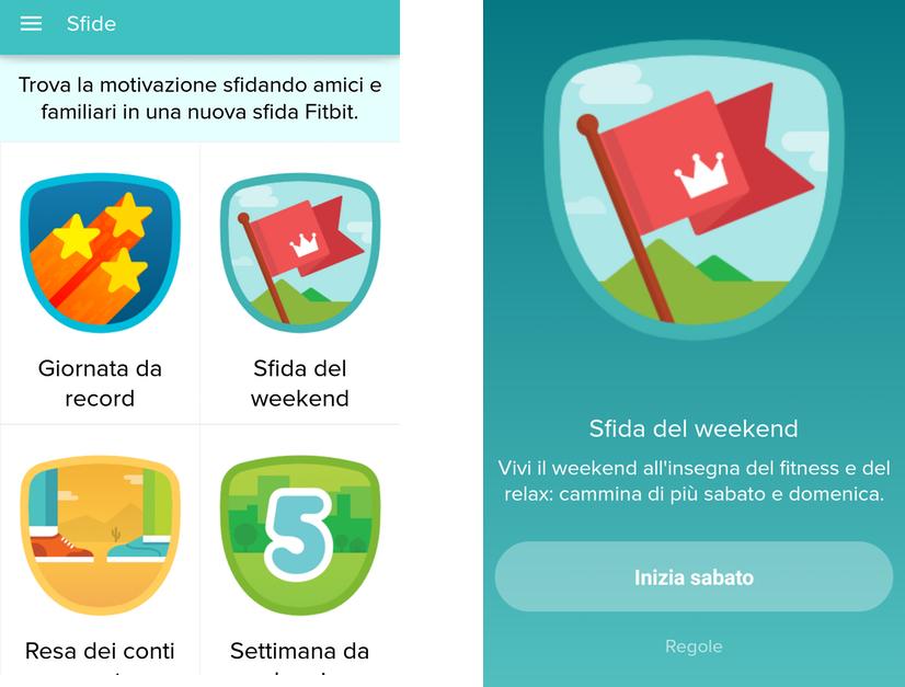 Fitbit: sfida i tuoi amici a chi cammina di più e guadagna dei badge