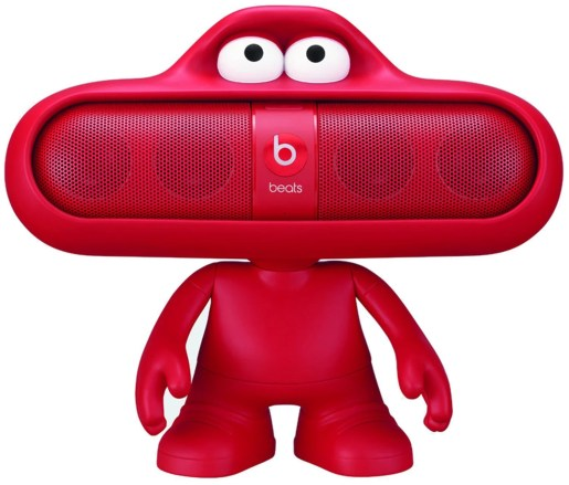 Mini Speaker Beats by Dr. Dre Pill + Dude + supporto bici
