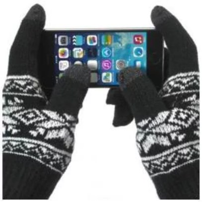 Guanti per touchscreen
