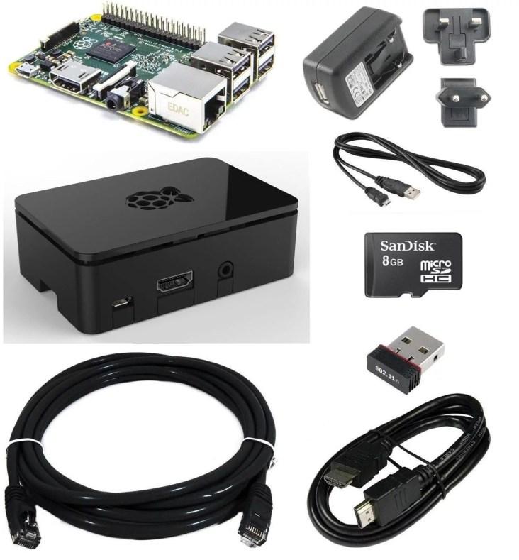 Raspberry PI 2 Starter Bundle: il mini computer personalizzabile