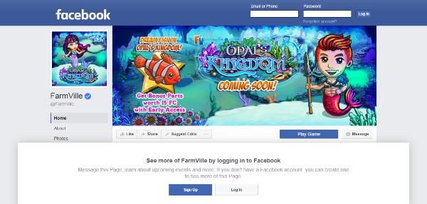 the top ten facebook apps