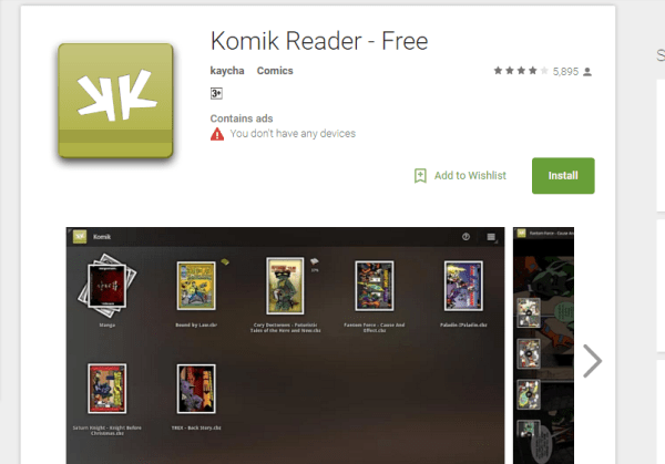 Comic Reader Apps