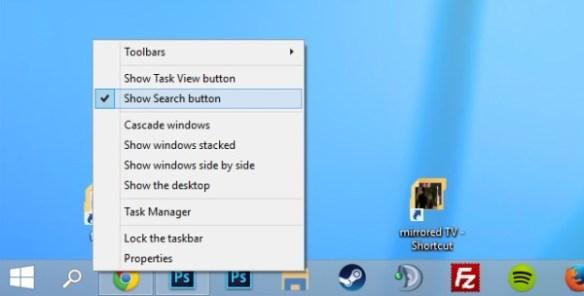 ways to customize the taskbar