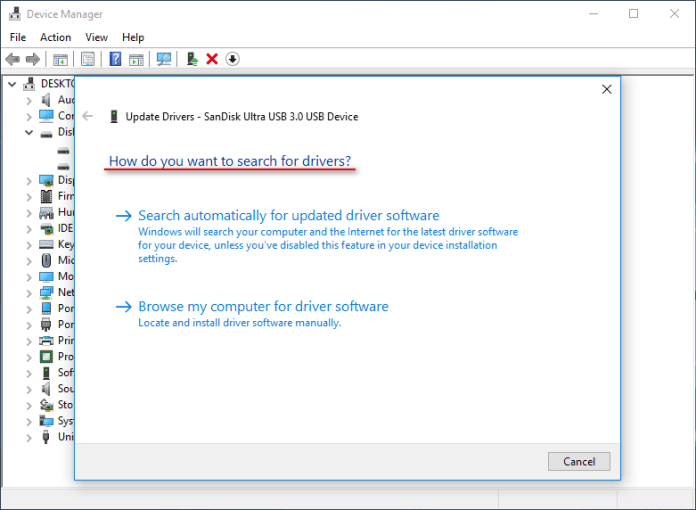 USB Flash Drive is Not Recognized