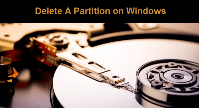 How to Use Diskpart to Delete a Partition on Windows 10?