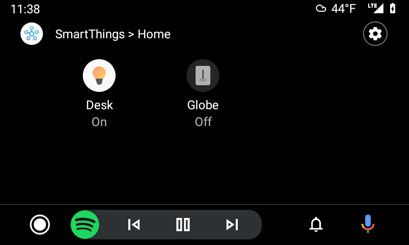 Android Auto w/ SmartThings