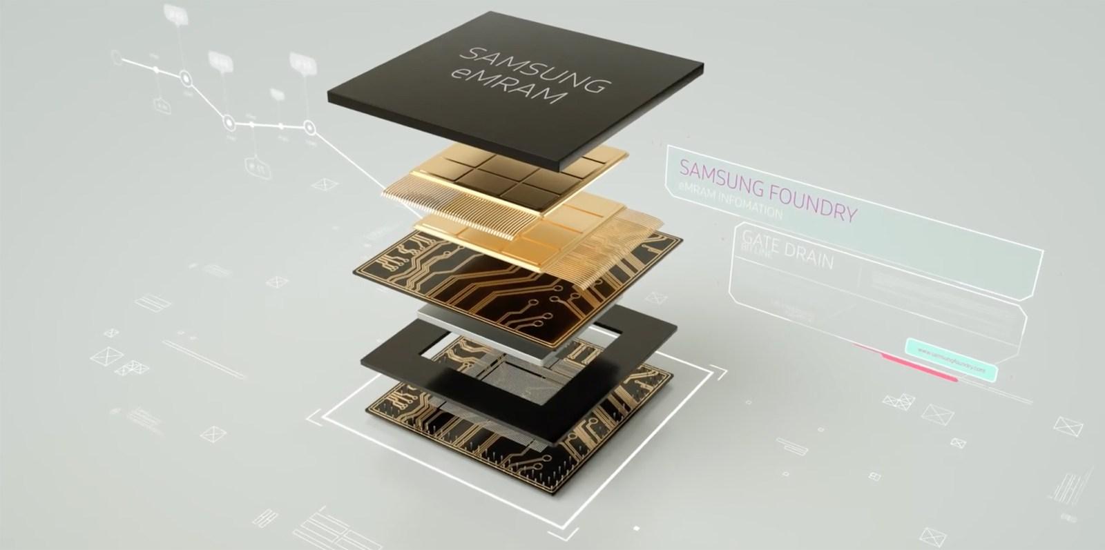 Samsung eMRAM