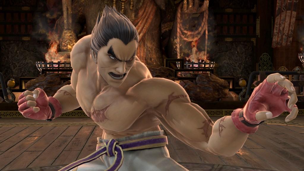 Kazuya dans Smash