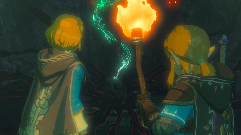 Image de la suite de The Legend of Zelda Breath of the Wild (Image du trailer de 2019)