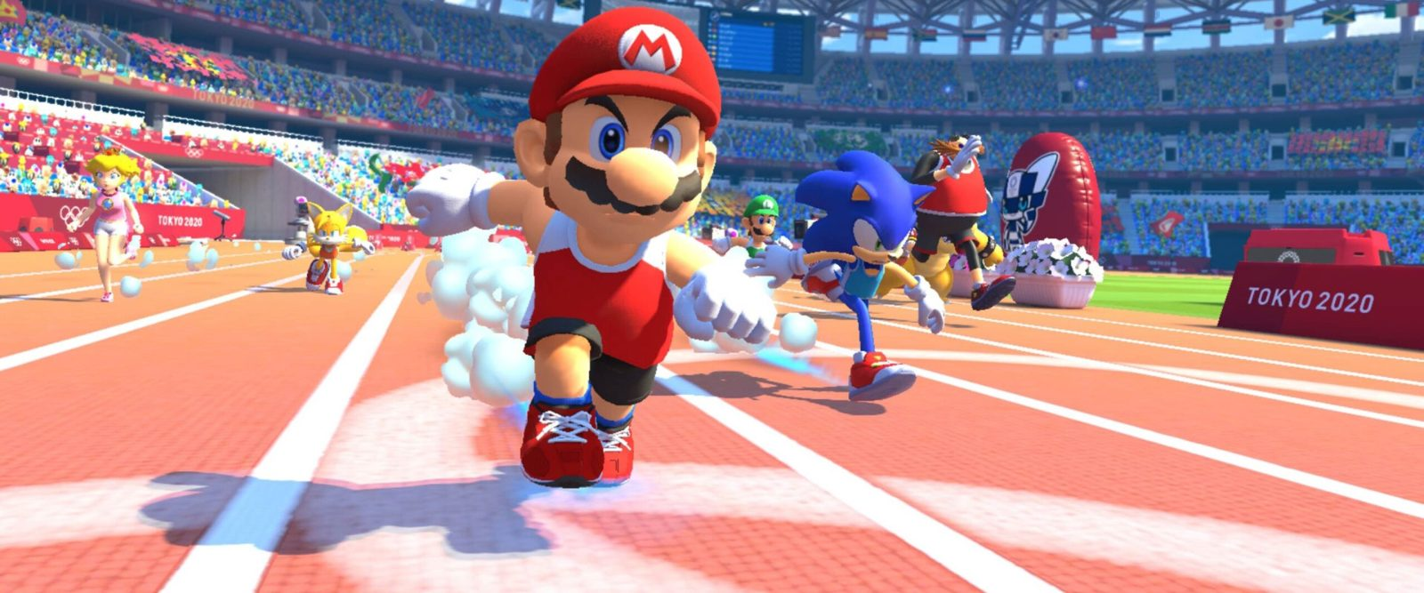Mario au JO