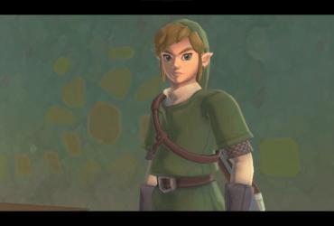Link dans sa fameuse tenue verte