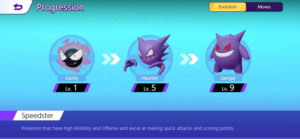 Évolution de certain Pokémons