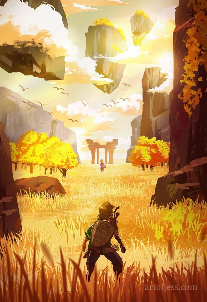 Fan art Zelda BotW 2