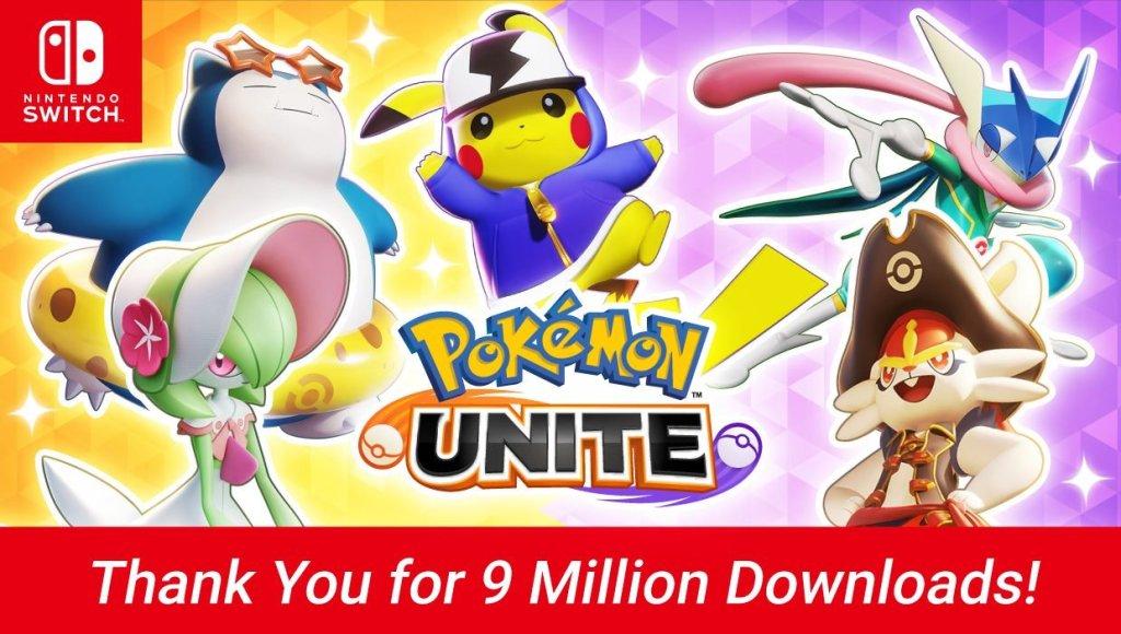 9M pour Pokémon Unite