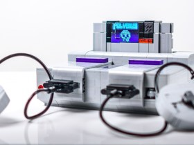 Super NES Lego Robot
