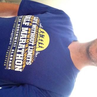 BJ UCP Half Marathon Shirt 2013