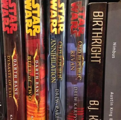 Star Wars Books by BJs